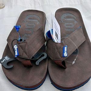 Nwt Corona flip flops